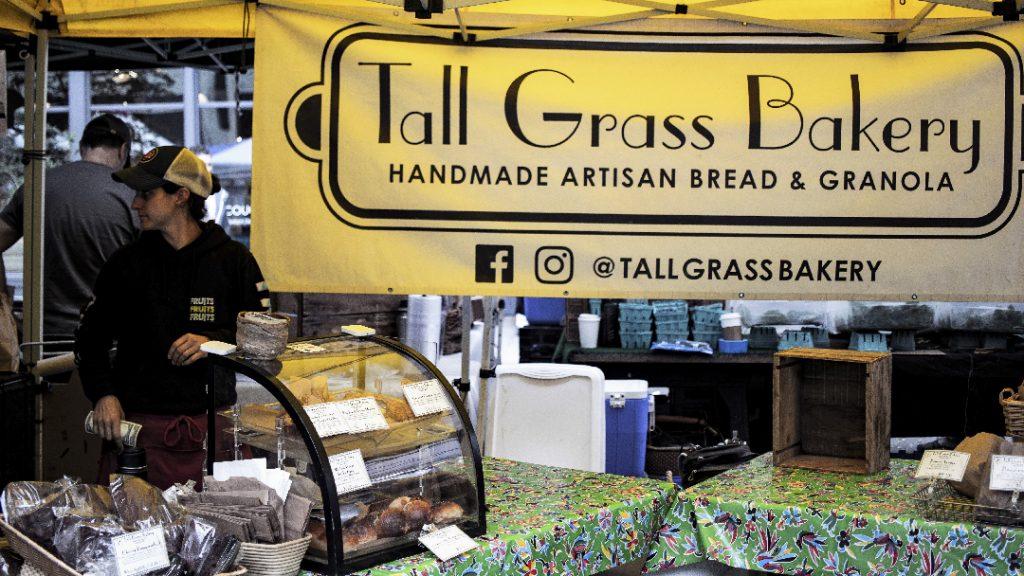 Tall Grass Bakery Stand