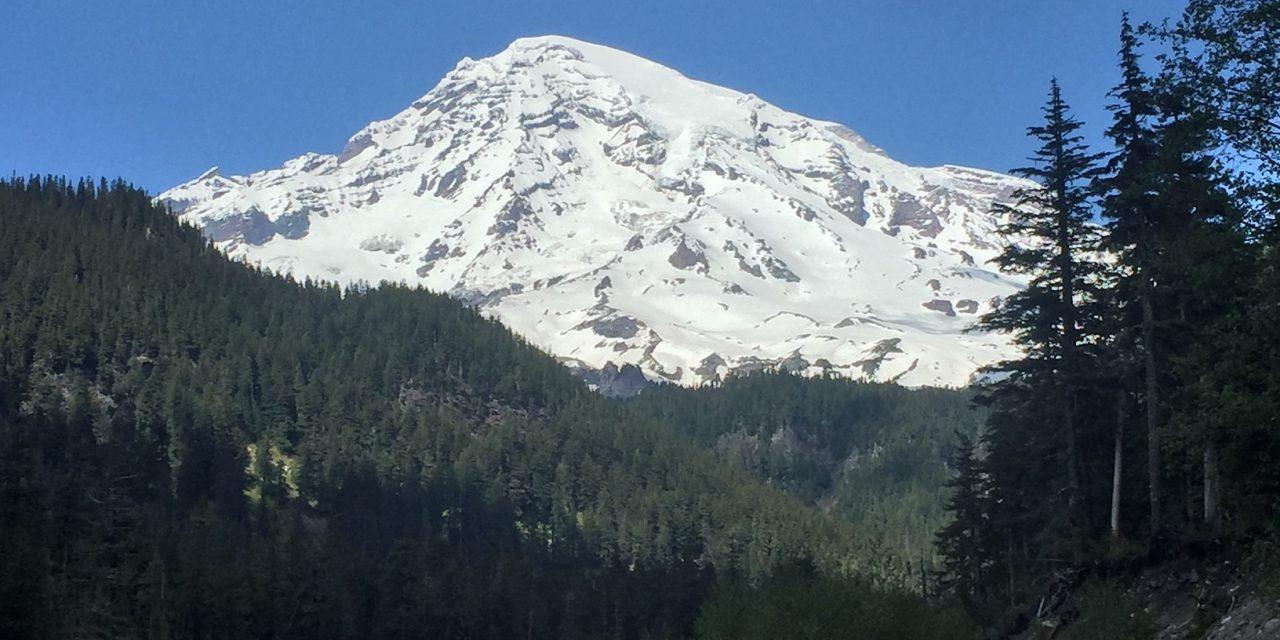 Live like Mount Rainier is watching