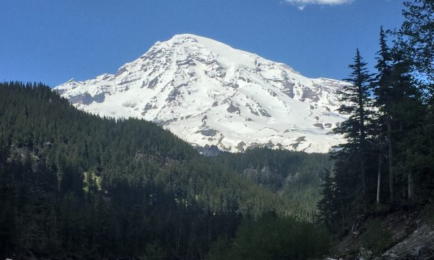 Live like Mount Rainier is watching