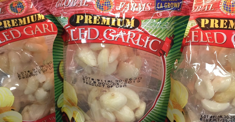 Grow your own garlic, for goodness sake